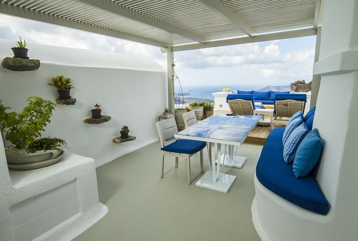 The Iconic Suite features a large private seating area and lounging deck...