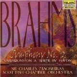 Brahms: Symphony No. 2 in D Major / Variations On a Theme By Haydn (Audio CD)By Scottish Chamber Orchestra