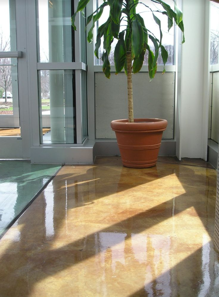 Check out this beautiful concrete flooring installation