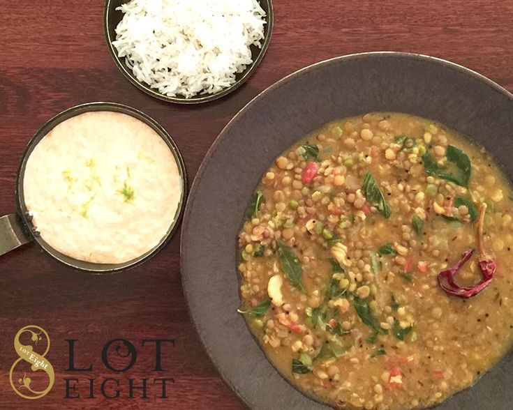 Lot Eight Hearty Dhal Soup