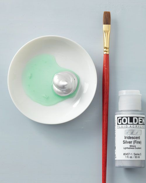 """Scratch-off""paint (like on lottery tickets) - one part dish soap, two parts acrylic craft paint."
