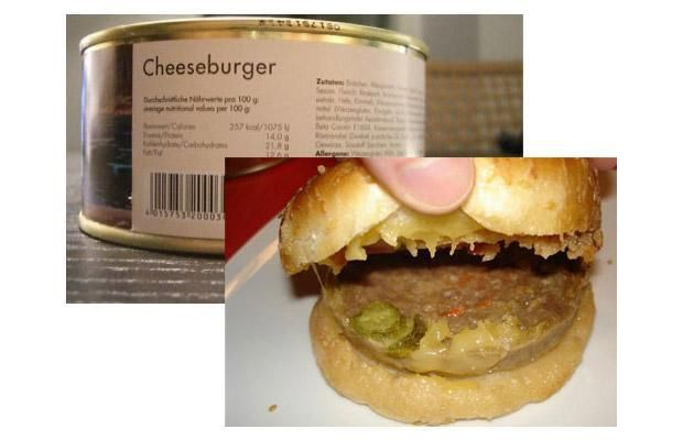canned cheeseburger recipe - http://johnrieber.com/2015/12/07/cheeseburger-in-a-can-my-favorite-holiday-gift-ever-deep-fried-cheeseburgers-too-the-worlds-biggest-burgers/