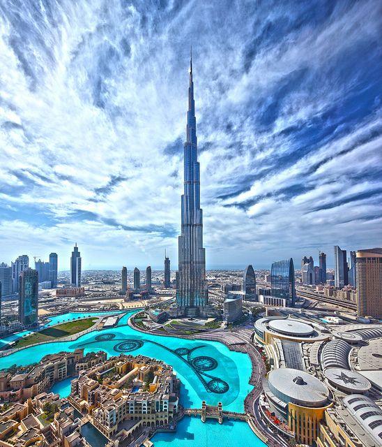 Burj Khalifa, the world's talles building, Dubai, United Arab Emirates #UAE (www.burjkhalifa.ae)