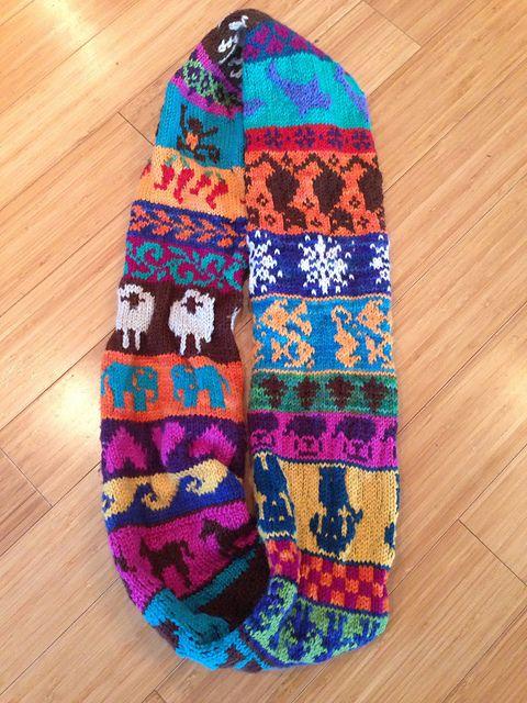 333 best Lovely fair isle knitting images on Pinterest | Fair isle ...