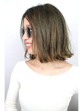 ジャコ ヘアー(jako HAIR) スモーキーカラー×外ハネボブ【jako】