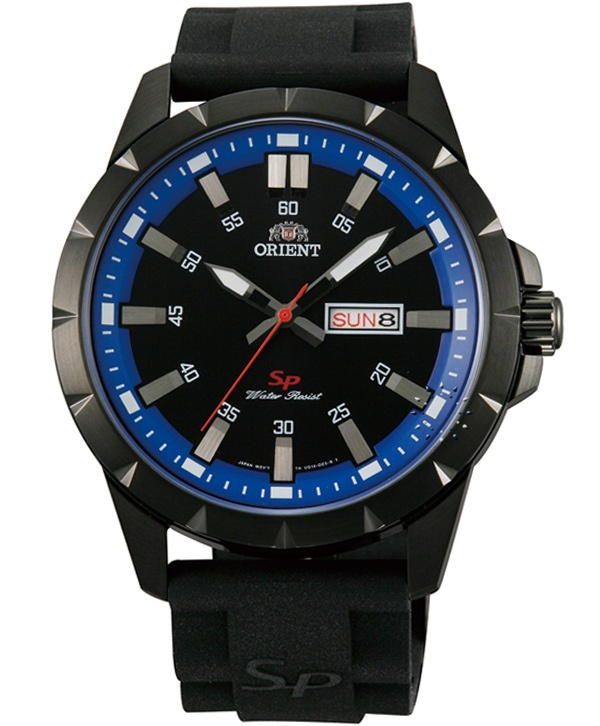 ORIENT Sport Black Rubber Strap  Τιμή: 103€  http://www.oroloi.gr/product_info.php?products_id=32045