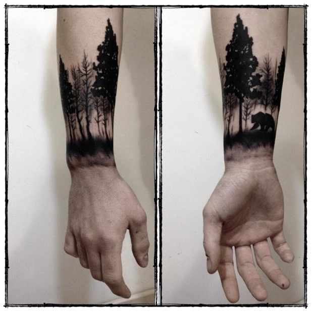 Beautiful Tree Tattoos Part 2