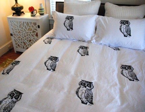 owl bedding du003c3 owl