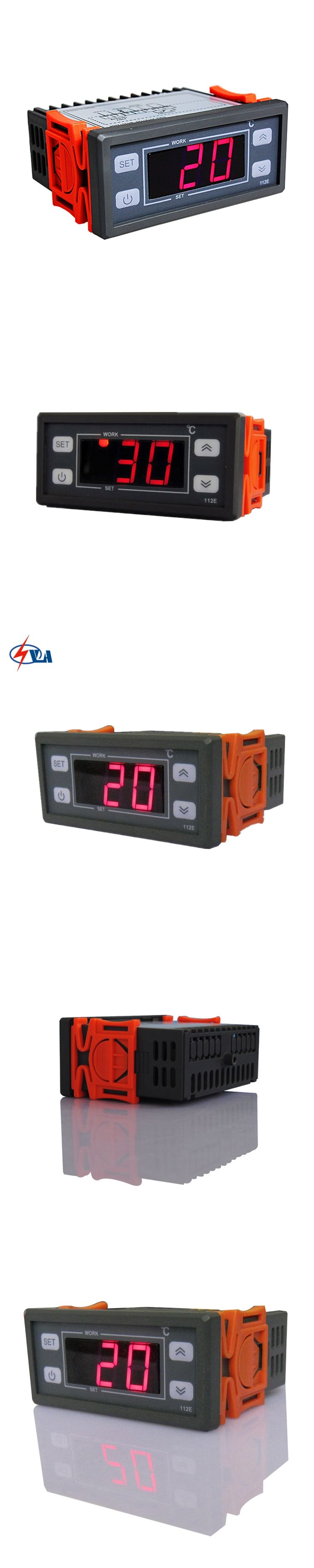 NV-112E Refrigeration/heat Digital Temperature and humidity Controller 230V 10A