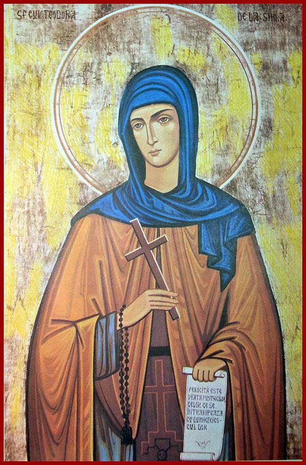 St Theodora of Sihla - Orthodox Church in America