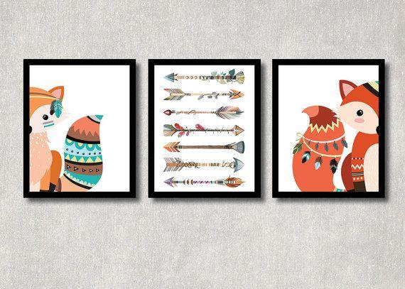 Woodland Wall Decor 25+ best fox decor ideas on pinterest | woodland creatures nursery