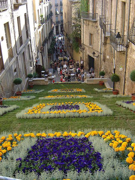 Annual Flower Festival - Temps de Flors – Girona, Spain - by English Muse