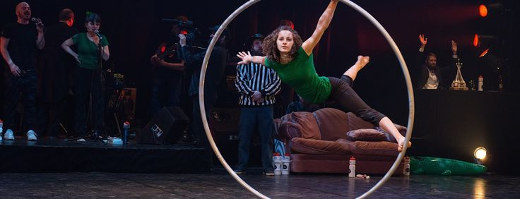 Circus improv tournament - 28-30 April – Four teams compete for the public's vote. Teams will use circus arts, theatre, dance and improve.