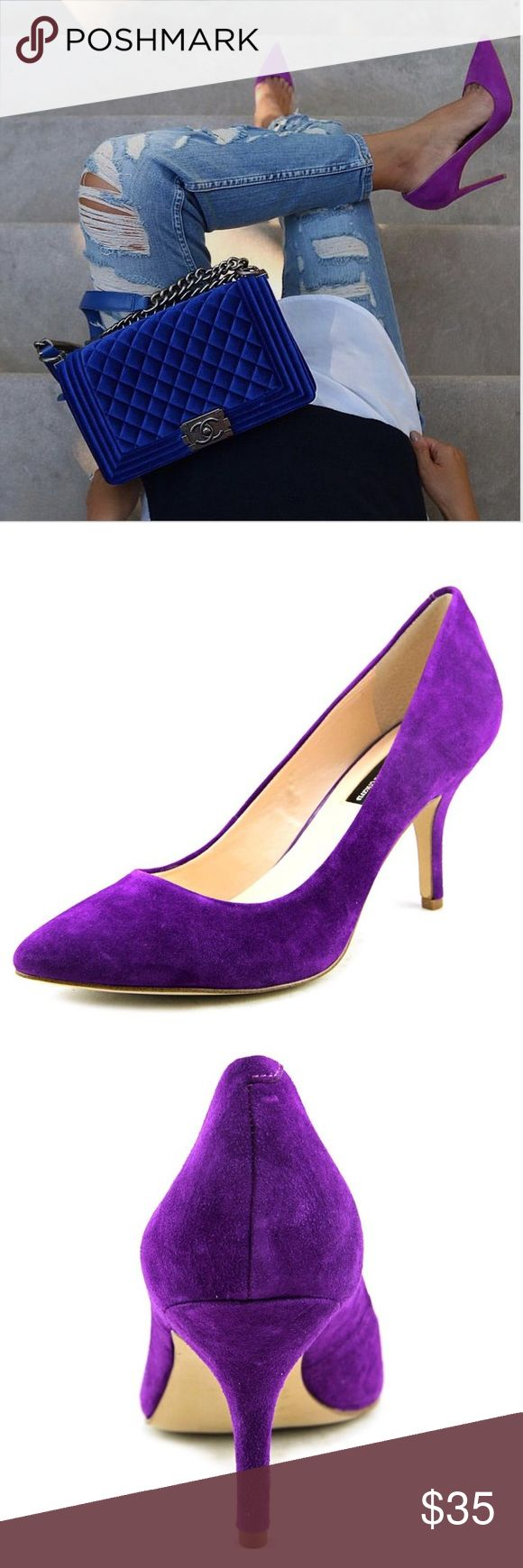 Brand New Purple Suede INC Point Heels Brand New Purple Suede INC Point Heels ✖️No Trades✖️If you have an offer please go through the offer button❤ INC International Concepts Shoes Heels