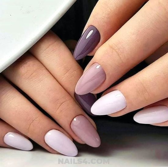 33+ Perfect Nail Designs For Work and Office / #nailart #work #nails #naildesign #gel #wonderful Professionail & Delightful Gel Manicure Design Ideas