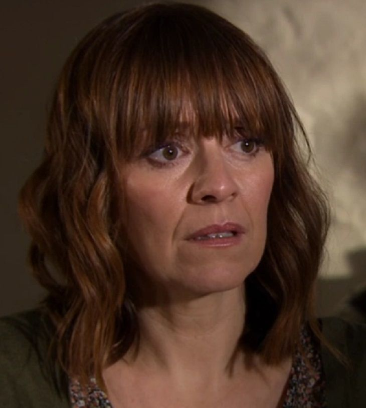 """""""Emmerdale,"""" spoilers tease that our heroine Rhona Goskirk makes a life-affirming decision next week, but will it all be for naught when her ex-husband torpedoes her plans? Fans can expect more twists and turns in Rhona's harrowing storyline as the summer months unfold, with the riveting plot being"""
