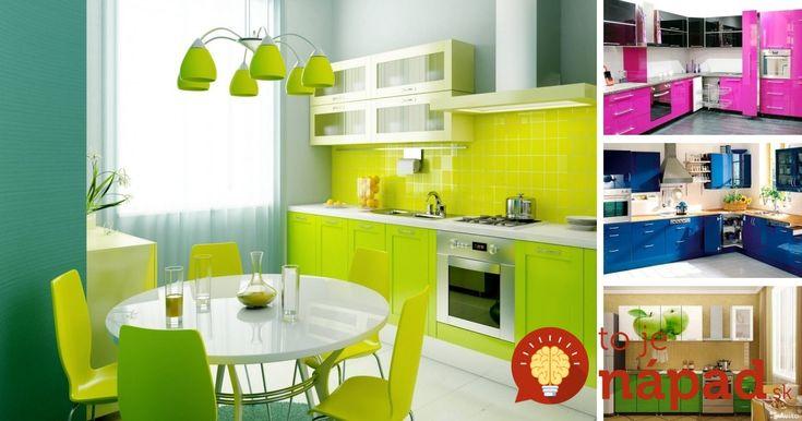 35 dôkazov, že farby kuchyni pristanú!