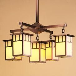 Huntington HCH 4L 4 1 DT Arroyo Craftsman ChandeliersDining Room
