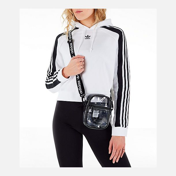 67e6d6639 adidas Originals Clear Festival Crossbody Bag | Finish Line ...
