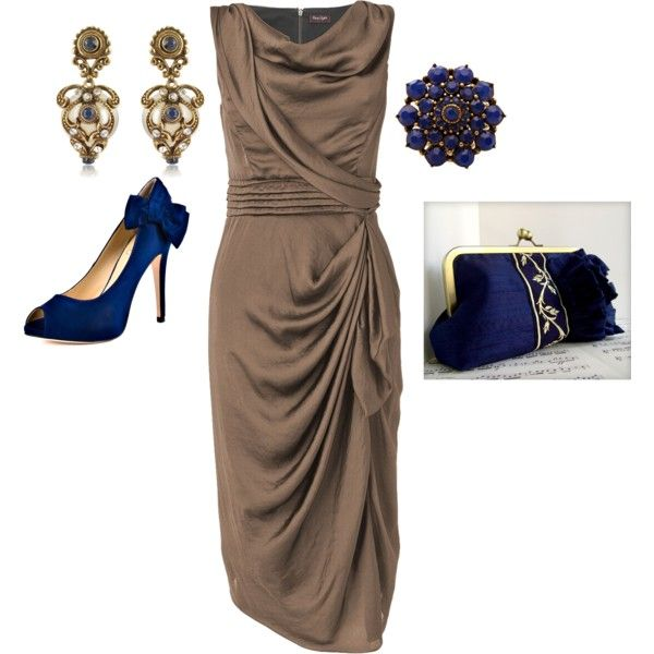 Mother of the Bride, created by rebeccadossantos on Polyvore