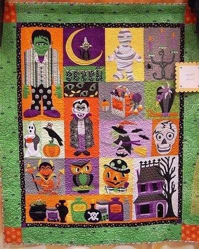 Fun Halloween quilt