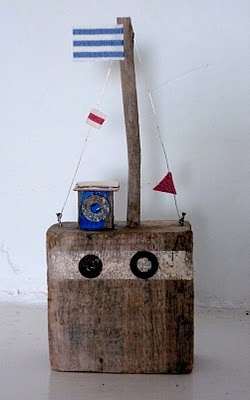 driftwood boat  sixty one A