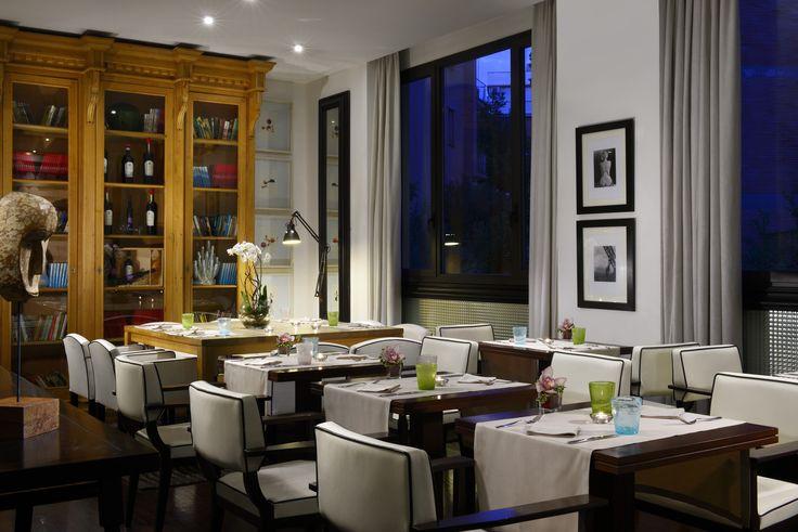 Dinner, Hotel Pulitzer Roma #hotel #rome #restaurant #dinner