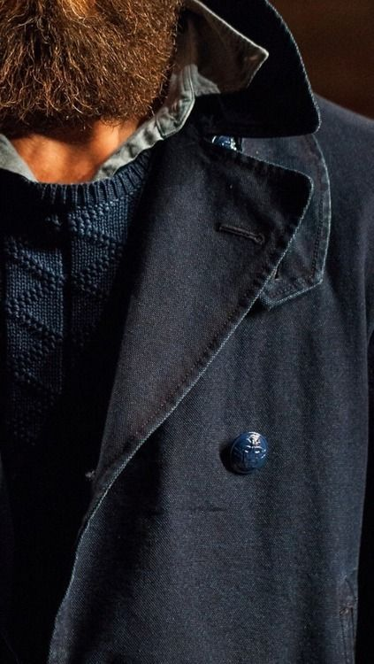 menswear navy jacket