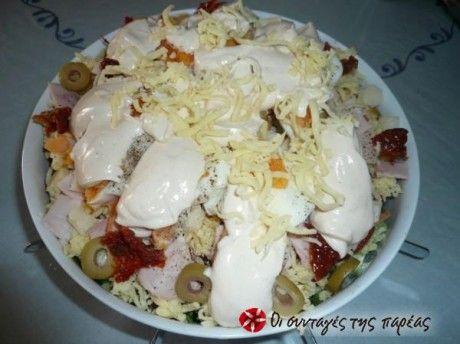 Η πιο γευστική και ελαφριά σαλάτα του σεφ που δε λιγώνει και έχει λίγες θερμίδες!!