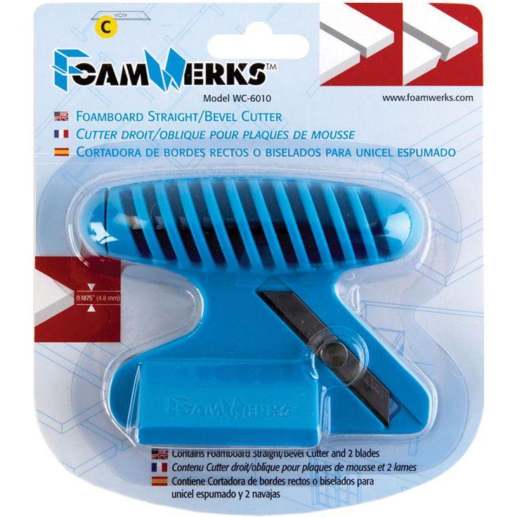Foam Werks Foam Cutting Tool-Straight/Bevel