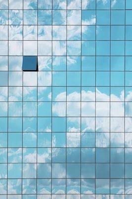 Marcus Cederberg - Reflektioner, photograph, sky, building, reflection, windows