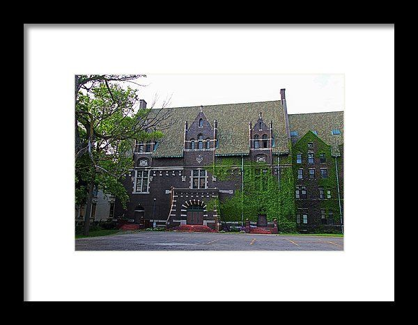 Old West End Mary Manse College Auditorium Aka Lois Nelson Theater I Framed Print By Michiale Schneider
