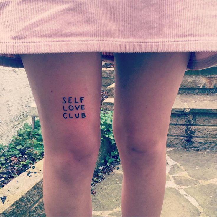 1000 ideas about self love tattoo on pinterest mental for Self love tattoos