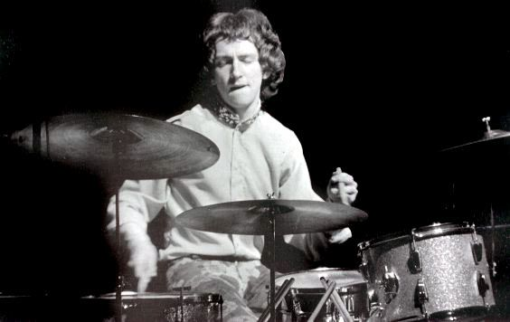 A true master of the craft. Mitch Mitchell, the drummer of The Jimi Hendrix Experience
