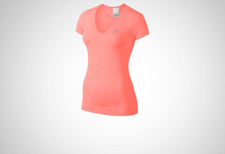 #Nike Dri-FIT Knit Texture V-Neck