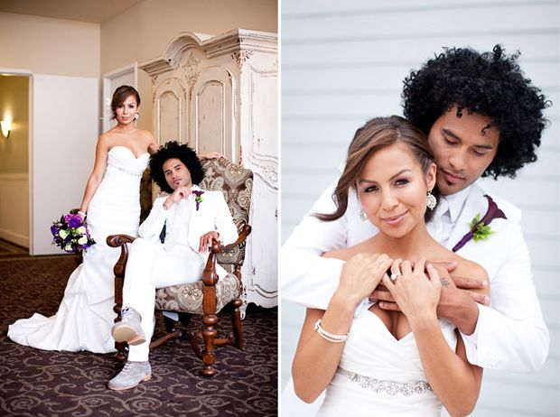 Anjelah Johnson and Manwell Reyes