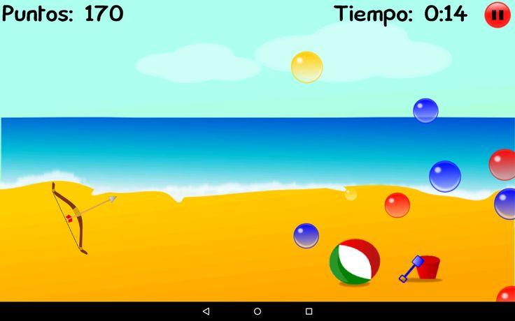 El juego Tiro con Arco: Burbujas está gratis para tu dispositivo android - Juegos para Niños