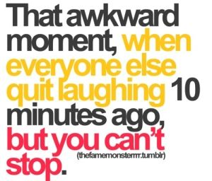 "i seriously do this!  We call it having a ""Dilly Bar"" moment!Time, Awkward Moments, Life, Laugh, Quotes, Funny Stuff, Humor, Things, True Stories"
