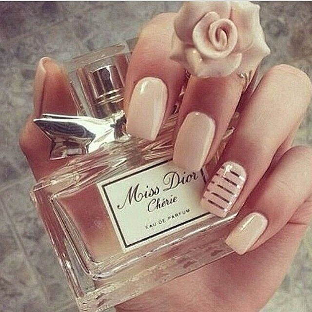 Simple, Classy, Nude Nails