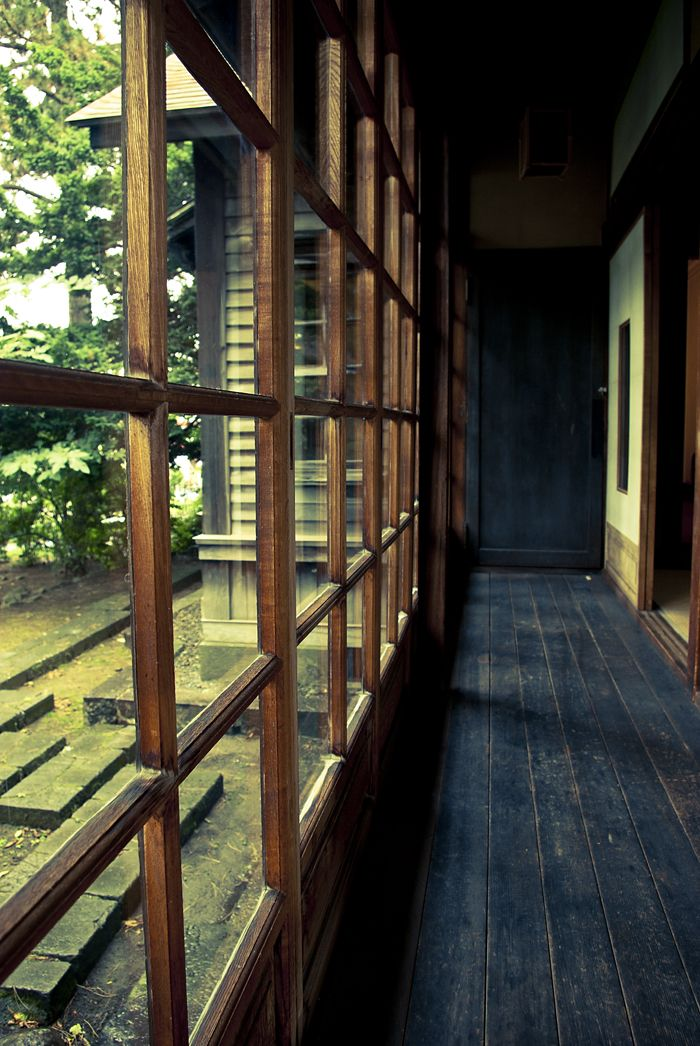 札幌、清華亭。I love the subtle simplicity in Japanese architecture