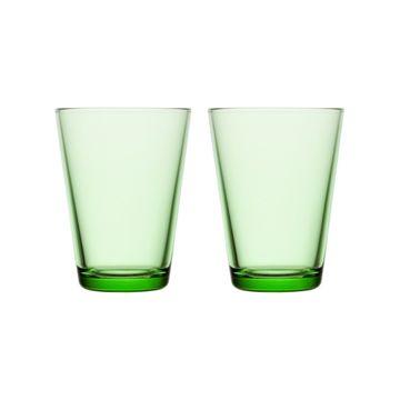 iittala Kartio 2li Cam Bardak-40 cl Apple Green