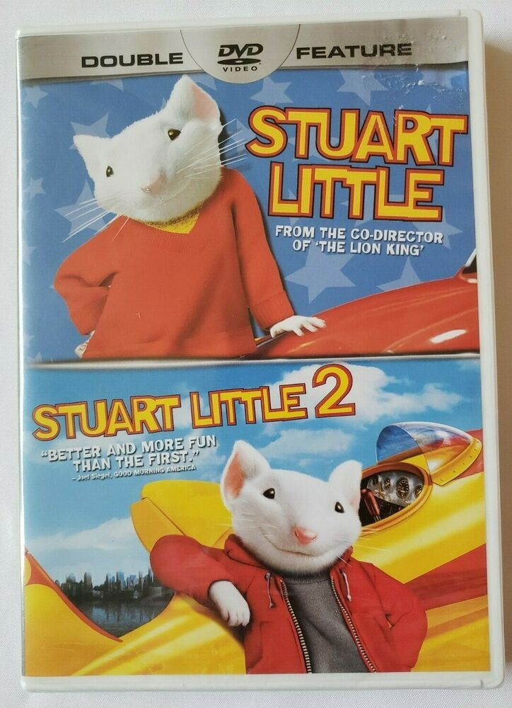 Stuart Little Movies 1 And 2 Double Feature Family Night Fun Dvd New And Sealed Columbiapictures Stuart Little Stuart Little 2 Family Night