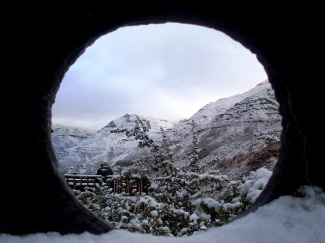 Snow in Lesotho, Maliba Lodge