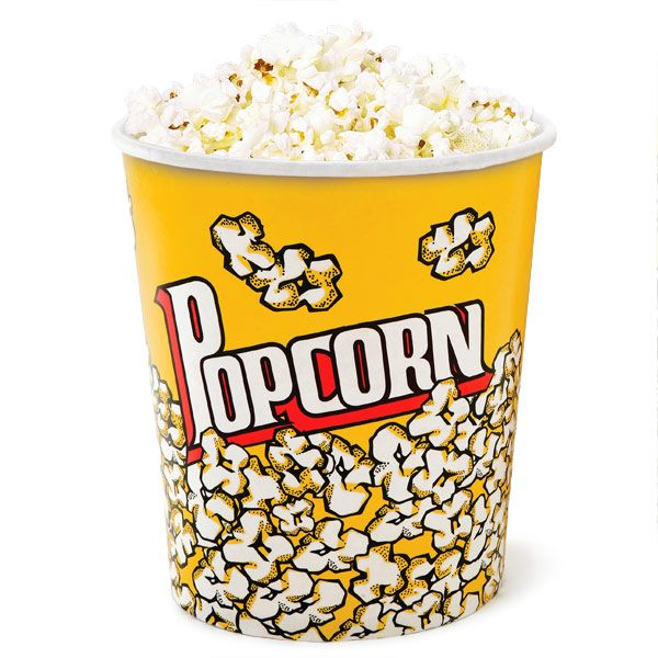 Popcorn Cups Large | Popcorn Box Popcorn Serving Bowl - Buy at drinkstuff