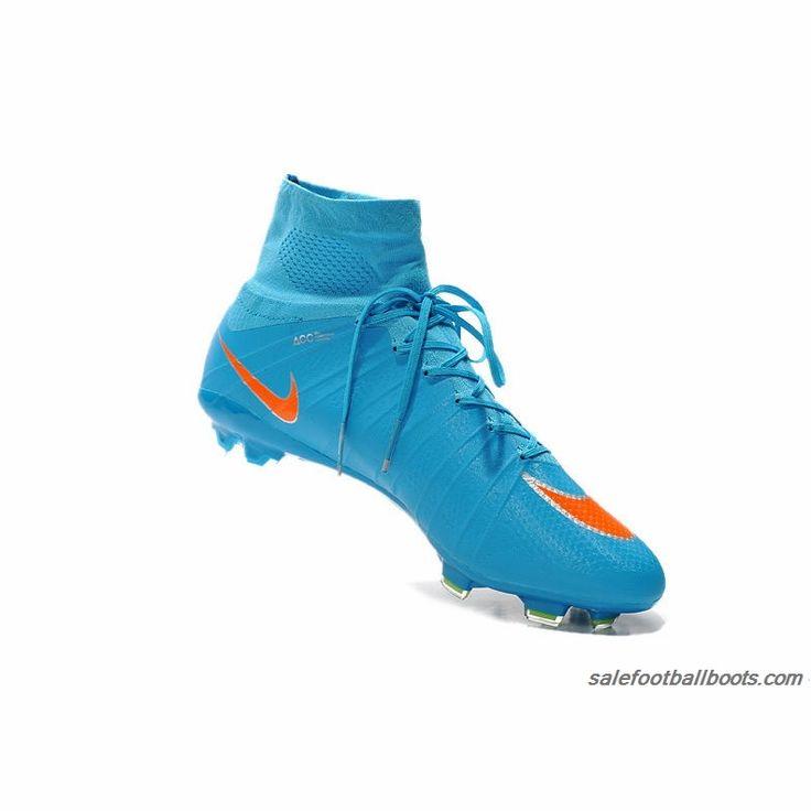 Nike Mercurial Superfly FG Firm Ground Blue Orange $110.99 ...