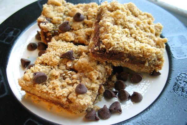Choc/Carmel cookie bars