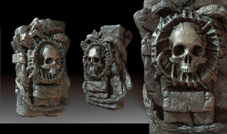 ArtStation - Dragon Age: Inquisition - Fade Shard, Julio Juarez