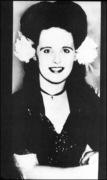 "January 15, 1947 - today is the anniversary of the discovery of the mutilated, beaten and severed body of Elizabeth Short, aka ""The Black Dahlia"".  Her shocking and brutal torture and murder is one of, if not the most famous, unsolved murders in American history.  RIP Elizabeth..."