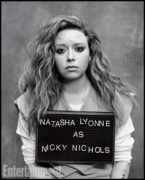 Natasha Lyonne as Nicky Nichols in Orange Is The New Black. Hot. I love her too! rawr!