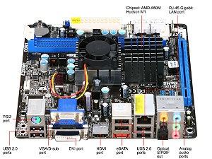 ASRock E350M1 AMD E-350 APU - Great HTPC base but Microsoft Silverlight fails to work properly with HD video streams on this particular processor series (Microsoft's fault, not AMD). Basically it can do anything but netflix in a very small form factor.